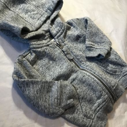 0-3 Month Grey Jogger Jacket